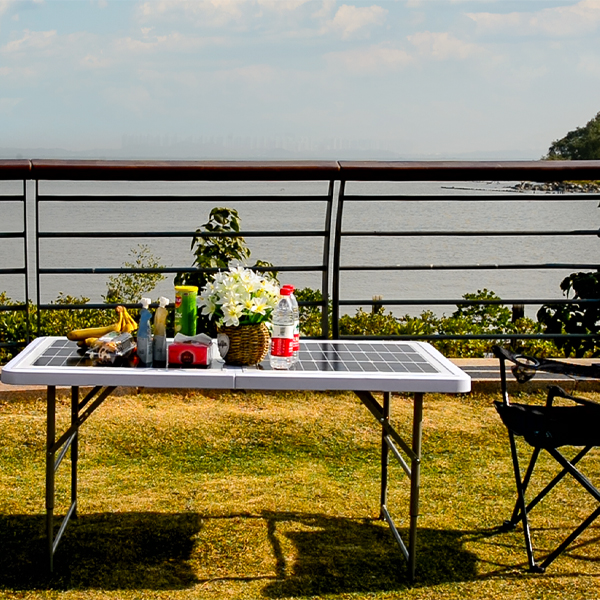 Pre-sale of New solar folding table