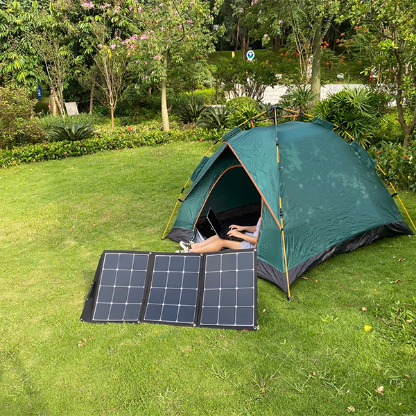 Sungold SunPower portable solar panel for 12V offgrid