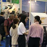 My first solar energy exhibition at the canton fair