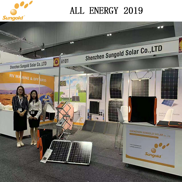 Sungold style is still-ALL ENERGY 2019 in (Melbourne)