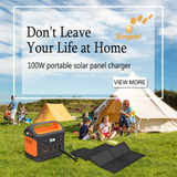 8x12.5w Mono Foldable Solar Panel Kit