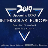 Upcoming EXPO: Intersolar Europe